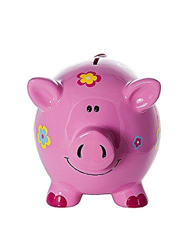 *Mousehouse Gifts Grande Tirelire Cochon des Fleurs Enfants Adultes Filles Achat