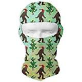 Christmas Yeti Bigfoot Forest Balaclava UV Protection Windproof Ski Face Masks Cycling Outdoor Sports Full Face Mask Breathable