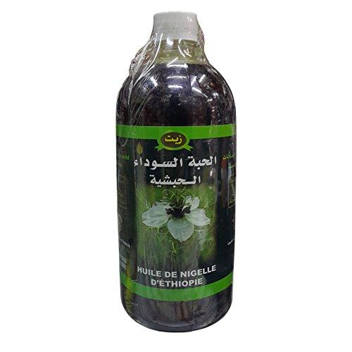 Huile de Nigelle d'Ethiopie 1L Haute Qualité 100% Naturelle/Huile de Cumin noir -...