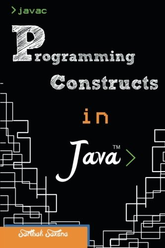 Boudewijn Jewel: Read Programming Constructs in Java by Sarthak