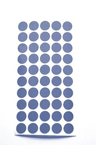 REflektoren Punkte Klebepunkte reflektierend Makierung Geocaching reflective Dots reflektierende kreise (50, blau) (Geo-kreis)