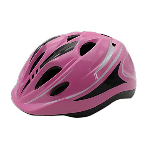 WZFC Fahrradhelm 2018 Specialized Kinder Fahrrad Helm, 49-57 cm (3~12 Jahre Alt),Pink (Helm Kind Specialized Fahrrad)
