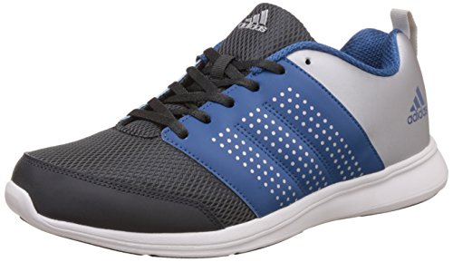 adidas Men's Adispree M Dkgrey, Corblu and Metsil Running Shoes - 9 UK/India (43.33 EU)