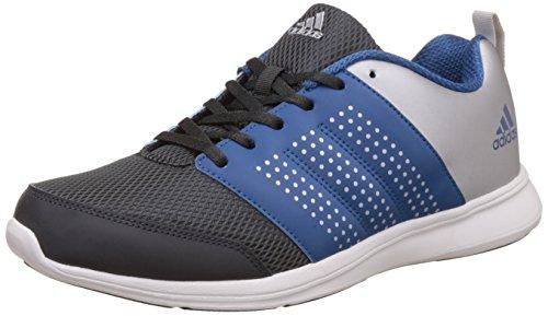 adidas Men's Adispree M Dkgrey, Corblu and Metsil Running Shoes - 8 UK/India (42 EU)