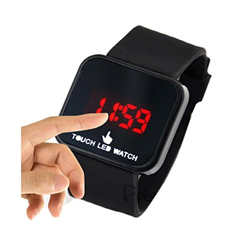 Creator Touch LED Screen Black Watch for Kids - TCTM