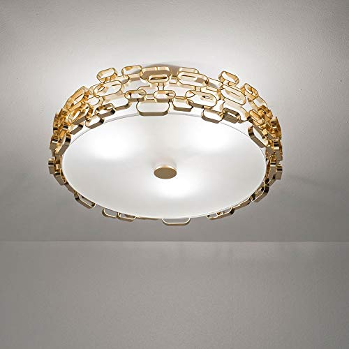 Terzani GLAMOUR Deckenleuchte, Ceiling Lamp Gold