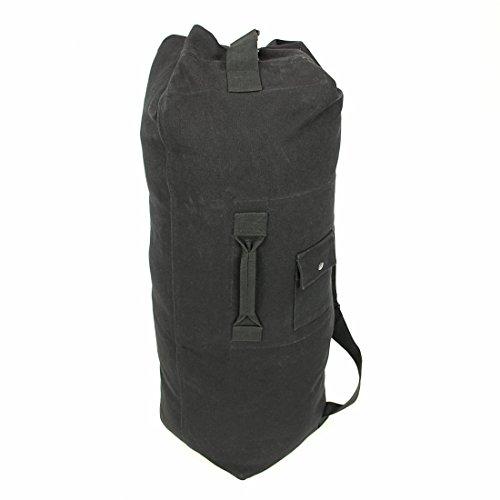 10T STB Duffle Bag 60L XL Seesack 90x26x26cm Rucksack Sporttasche Canvas Reisetasche 100% Baumwolle