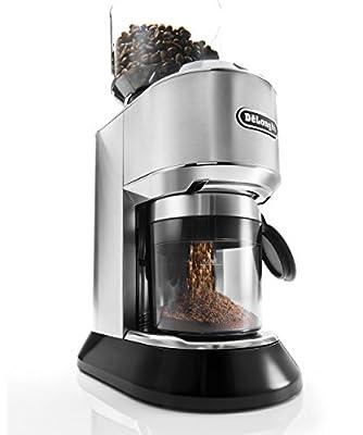 De'Longhi Dedica Style KG521M Coffee Grinder - Silver