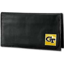 NCAA Georgia Tech Deluxe Leather Checkbook Cover