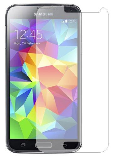 Membrane 3 x Pellicola Protettiva Compatibile con Samsung Galaxy S5 (GT-i9600 / SM-G900 / SM-G900F / 4G+) - Trasparente