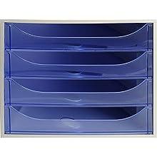 Exacompta 'EcoBox' Drawer Set - Ice Blue