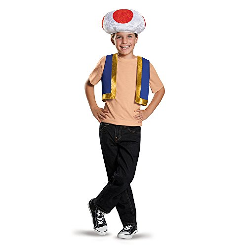 Nintendo Super Mario Bros Toad Costume Kit Child