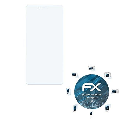 atFolix Schutzfolie kompatibel mit Elephone S2 Folie, ultraklare FX Bildschirmschutzfolie (3X)