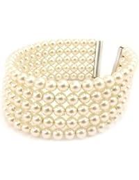 Les Trésors De Lily [L1612] - Bracelet 'Sissi' ivoire
