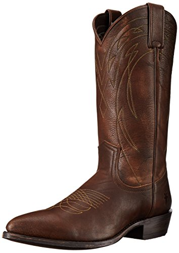 frye-billy-pull-on-uomo-us-105-marrone-scuro-stivale-da-cowboy