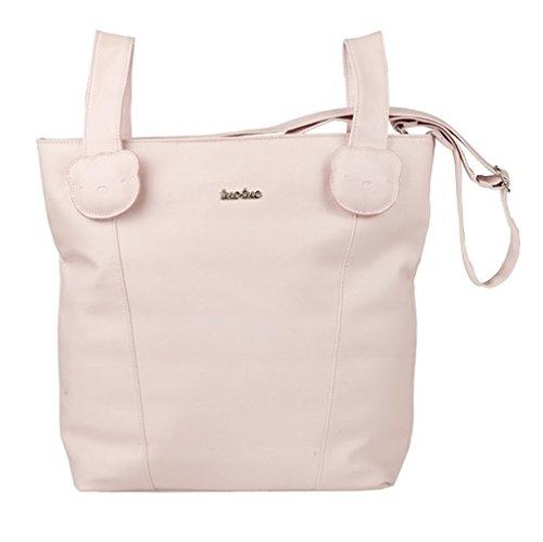 Preisvergleich Produktbild TUC TUC Brioche Tasche Brotkasten und Wickeltasche aus Kunstleder, Pink