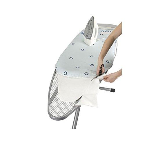 WENKO 1090121100 Ersatz-Bügelpolster - zuschneidbar, für alle gängigen Bügeltische, Kunststoff - Polyester, Weiß