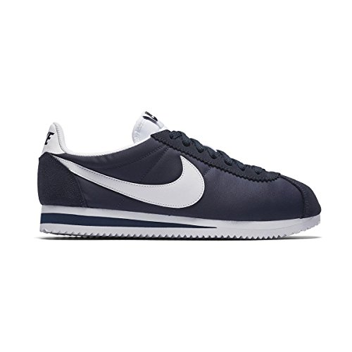 Nike Wmns Classic Cortez Nylon, Chaussures de Running Entrainement Femme Azul (Azul (obsidian/white))