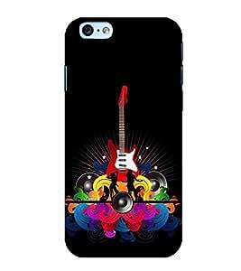 Fiobs Designer Back Case Cover for Apple iPhone 6 Plus :: Apple iPhone 6+ (Guitar Symbol)