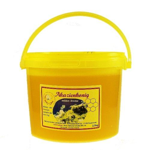 Akazienhonig (2,5 kg Eimer) Akazien Honig Herkunft: Ungarn