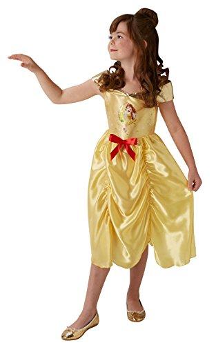 Fairtytale belle - disney princess - bambini costume - grande - 128 centimetri - età 7-8