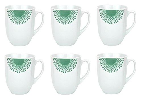 6er Set Kaffeebecher Modena Pusteblume 33cl
