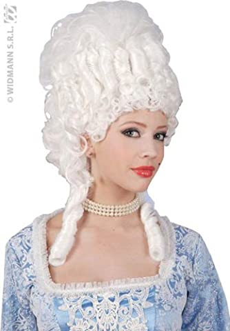 Marie Antoinette White Wig for Hair Accessory Fancy