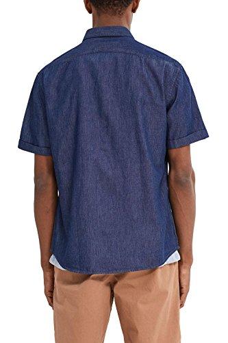 ESPRIT Herren Freizeithemd 037ee2f019 Blau (Ink 415)