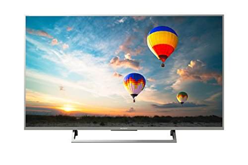 Sony Bravia KD43XE8077 43-Inch 4K HDR Ultra HD Smart Android TV with Youview and Freeview HD - Silver (2017 Model)
