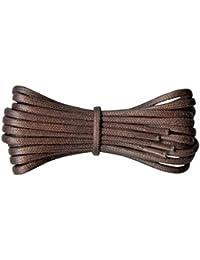 85f1d57ab02 Fabmania cordones redondos de algodón encerado de 2 mm-45 a 120 cm de  longitud
