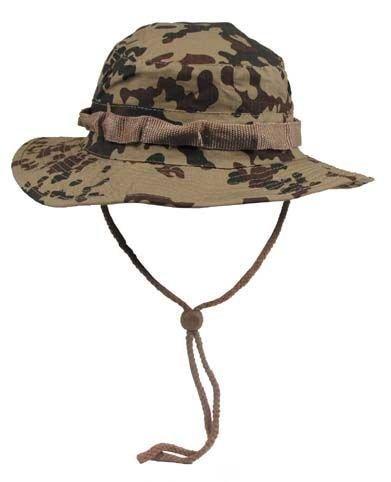 MFH Boonie Hat Australian Buschhut Junglehat Tropenhut Wüstenhut mit Kinnband S-XL