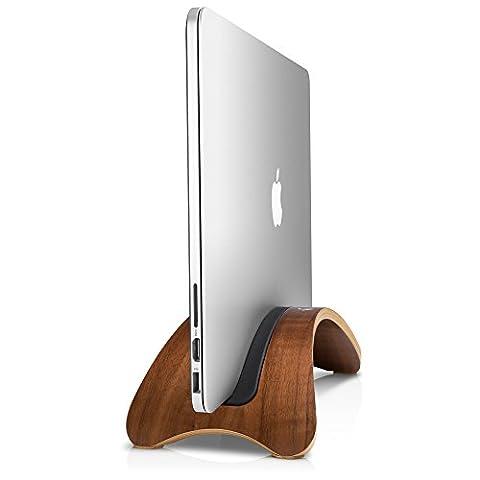 Twelve South 12-1318 Holz BookArc Möd Dockingstation für MacBook Pro/Retina bis 38,1 cm (15 Zoll)/Air bis 33 cm (13 Zoll)