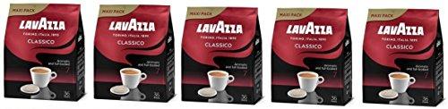 5 x Lavazza Classico for Senseo, 36 Coffee Pods, (For Senseo Machines Only)