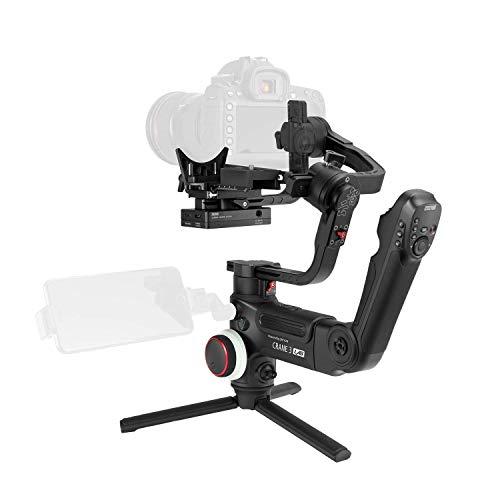 Zhiyun Crane 3 LAB 3-axis palmare stabilizzatore palmare per DSLR Sony A7M3 A7R3, Canon 1DX II 6D 5D IV, Panasonic GH4 GH5 GH5S,Nikon D850