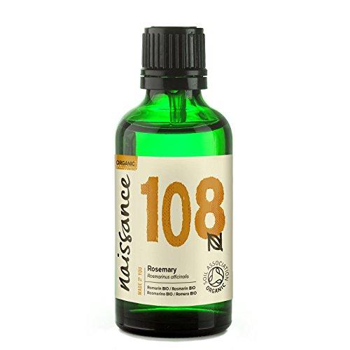 Naissance Rosmarin 50ml BIO zertifiziert 100% naturreines ätherisches Öl -