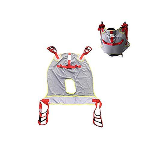 Xergou Imbracatura per Il Sollevamento dell'aspirazione del paziente Imbottita, Portata di 230 kg, Sollevatore del paziente Imbracatura per Il Trasporto di Tutto l'equipaggiamento