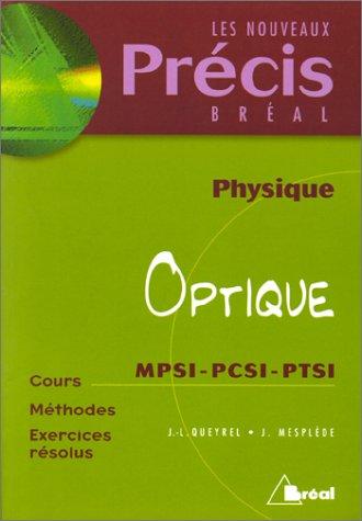 Optique : MPSI-PCSI-PTSI