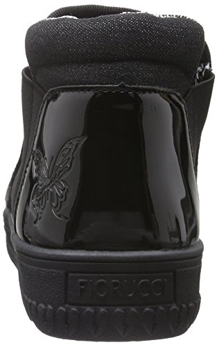 Fiorucci Fdag033, Baskets Basses Femme Noir - Noir