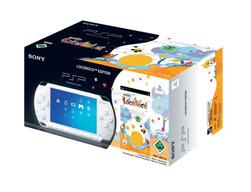 PlayStation Portable - PSP Konsole White (Loco Roco Bundle)