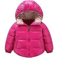 Hawkimin Kinder Baby Mädchen Jungen Winter Mit Kapuze Mantel Jacke Dicke Warme Oberbekleidung Kleidung