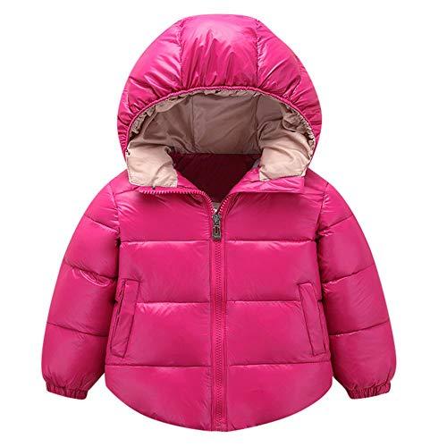 ac990e6b6 Xmiral Chaqueta Abrigo Invierno Ropa para Bebés Niños de Algodón con Capucha  Espesar Cálida Coat Winter