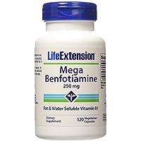 Life Extension, Mega Benfotiamine, 250 mg, 120 Capsules végétales