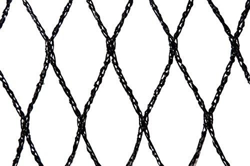 Filet anti-oiseaux - Maille de 29mm Noir 10m x 20m