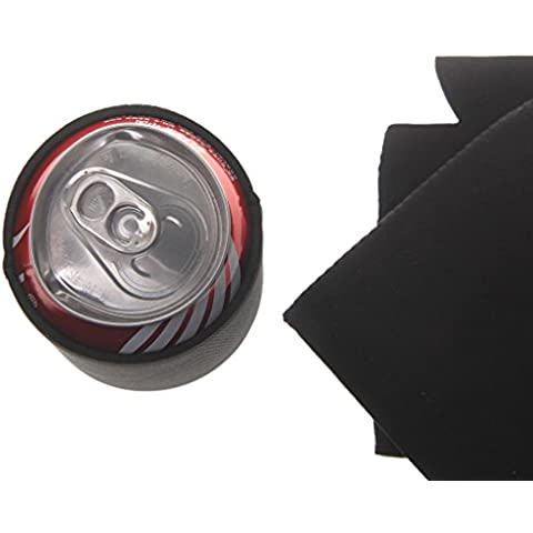 10x Botella de Cerveza Fundas para Bebidas Stubby Favor Koozie Refrigerador Manga Soporte Boda -
