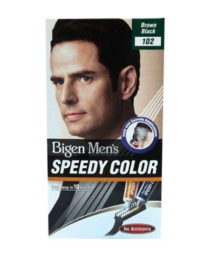 Bigen Men's Speedy Color, Brown Black 102 (40g + 40g)