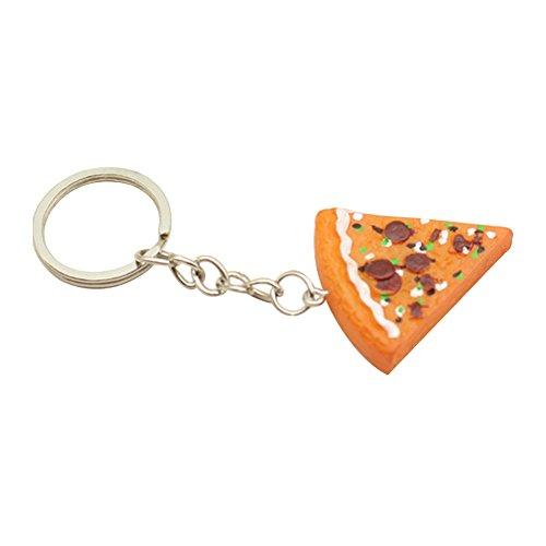 Finanzen Plan Ausverkauf Sortiert Pizza Slice Form Schlüsselanhänger Ring Auto-Geldbörse Handtasche Handy Zubehör 1 (Insel-geschirrspüler)