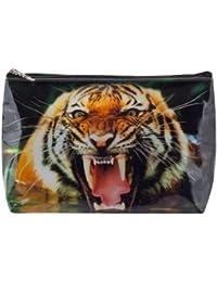 Tigapaw® - Neceser para niños, mujer, hombre, color naranja (diseño de tigre)