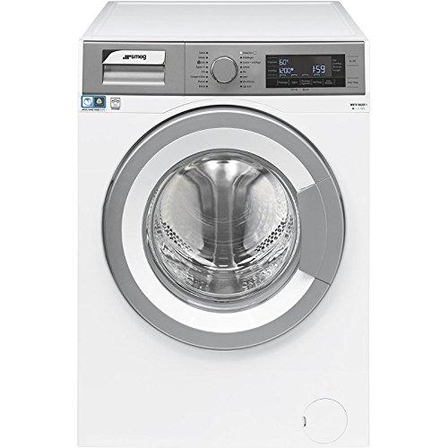 Smeg WHT814LSIT-1 Libera installazione Caricamento frontale 11kg 1400Giri/min A+++ Grigio, Bianco lavatrice