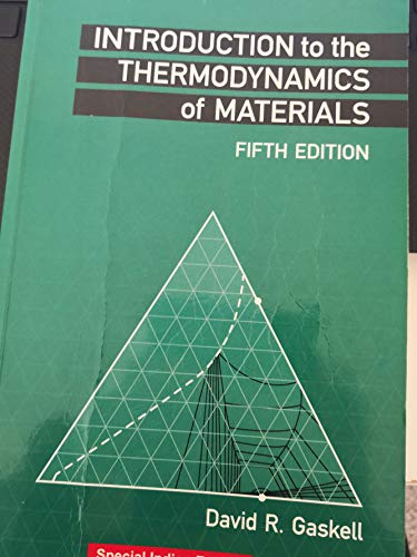 Introduction To The Thermodynamics Of Materials, 5 Ed With Cd