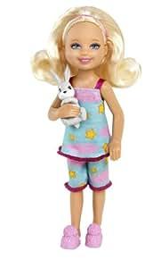 Barbie W3202 - gamme Chelsea et ses amis - Chelsea avec un lapin
